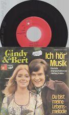 "7""CINDY & BERT--ICH HÖR MUSIK"