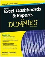 Excel Dashboards & Reports for Dummies, Paperback by Alexander, Michael, Like...