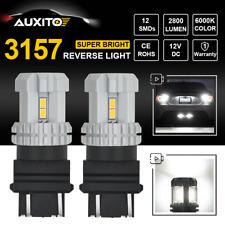 CREE 3157 3156 4114LL 3057 4157 LED Brake Tail Backup Reverse Light 6000K 2800LM