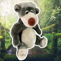 "Vintage Jungle Book BALOO bear Plush 12"" Walt Disney World Disneyland~ Clean!"