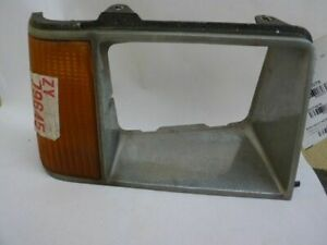 Passenger Right Headlight Door/Cover Chrome Fits 81-85 ESCORT 37337