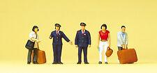 Preiser H0 Art.Nr. 10570 Chinesisches Bahnpersonal, Reisende
