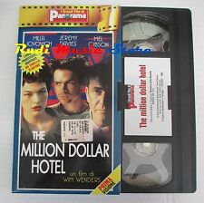 film VHS THE MILLION DOLLAR HOTEL M. Jovovic   cartonata Panorama (FP1* ) no dvd