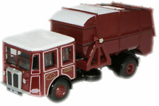 Oxford 76SD001 S & D Dust Cart West Lothian Maroon 1/76 Scale New Tracked 48 Pos