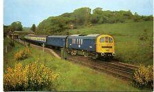 British Railways SR Electric Locomotive E5004 Sandling Kent 1960s postcard
