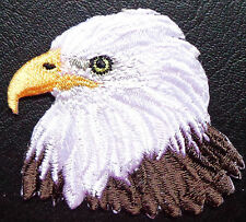iron on applique/patches-EAGLE HEAD BROWN