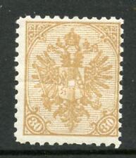 La Bosnia Erzegovina 1900-01 armi 30H PF 10 1/2 MINT Fault
