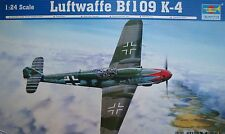 TRUMPETER® 02418  Bf109 K-4 in 1:24