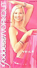 The Goddess Workout with Dolphina - Bellydance with Veils [VHS], Good VHS, Dolph
