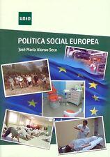 UNED Política Social Europea, José María Alonso Seco, eBook, 2014