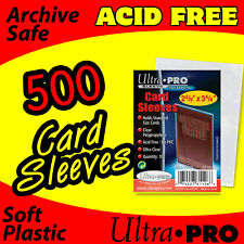 500 CARD SLEEVES - ULTRA PRO - SOFT PENNY SLEEVES ACID FREE 81126-5