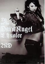 LEE HYO RI - Dark Angel (2nd Album) OFFICIAL POSTER *HARD TUBE CASE*