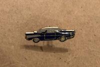 Lot Of (11) Antique Vintage Enamel Ford Thunderbird  Lapel Pins Blue