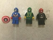 Lego Super Heroes Captain America Red Skull And Hydra Henchman Set 76017