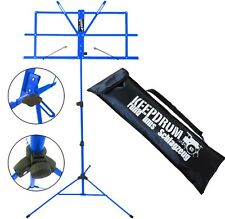 KEEPDRUM MUS2BL Notenstaender Blau + Tasche