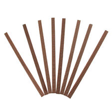 8 Pcs Guitar Binding Purfling Inlay Mahogany for Builder/Luthier Supplies