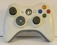 Official Xbox 360 OEM Wireless White Game Controller Official - TESTED