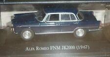 # RARO MIB 1/43 FNM JK2000 (ALFA ROMEO BRASILE - 1967) DIECAST CAR IXO ALTAYA #
