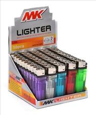 MK Lighter - 3 Lighters - Long Last - Mix N Match Clear Color Blue Red Green