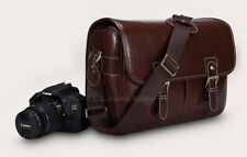 PU Leather Shoulder Camera Bag Case For Nikon D3400 D500 D5300 D5600 D610 D7100
