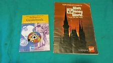 WDW Unique GAF Film WDW Complete Guide 1976 & American Express Guide 2000