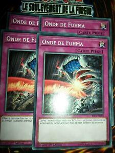 YU-GI-OH! PLAYSET (LOT DE 4) ONDE DE FUHMA RIRA-FR084 NEUF EDITION 1