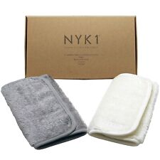 NYK1 Bamboo Face Cloths Make up Remover Exfoliate Flannel Eco Friendly Cloth
