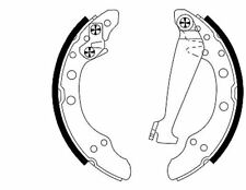 MSP252 MINTEX Brake Shoe Set Shoe Kit Pro rear