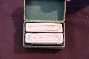 PLAYING CARDS: Mint double patience set by C Goodall