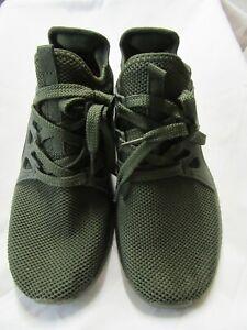 Troadlop Women's Air Knitted Running Shoes Green.