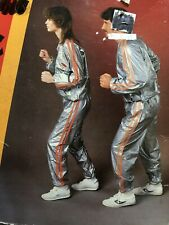 Vtg NEW Work-Out Suit Exercise Sauna Weight-Loss Pants Top Adult L/XL Healhways