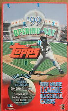 99 1999 Topps Opening Day Sealed Retail Box of 36 Packs Baseball Cards