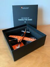 Hamilton Watch Branded Plane and Badges - Rare collectors item!