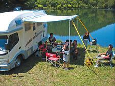 Tie Down Black Fiamma Corda Fissaggio Veranda Tendalino Camper Campeggio Sosta