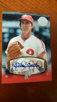 2004 STEVE CARLTON /50 SP #197 UD Timeless Teams   Short Print  !