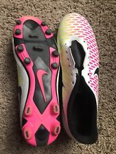 Nike Magista Onda Soccer Cleats Mens Size 9 White Pink