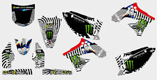0019 KAWASAKI KXF 250 2009-2012 KXF 450 2009-2011 DECAL STICKER GRAPHIC KIT