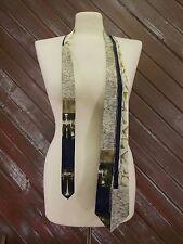 FloRence & K-inc Neck Tie Silk Geometric Design Made in Italy Multi Color