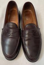 Alden # 984 LHS Burgundy Calfskin Leather Loafers. Van Last. 9.5 C