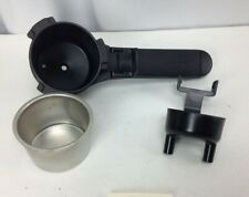 Krups 871 Bravo Espresso Portafilter Filter Holder Basket Replacement, Black