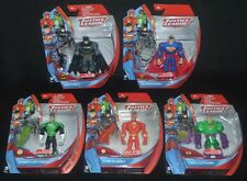 Justice League BATMAN, SUPERMAN, GREEN LANTERN, FLASH & LEX LUTHOR Target Rare!