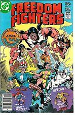 Freedom Fighters #11 (1977) VF/NM-NM  Bob Rozakis - Dick Ayers - Jack Abel