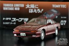 [TOMICA LIMITED VINTAGE NEO TAIYO 07 1/64] TOYOTA SUPRA 3.0GT TURBO (Red)