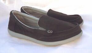 Crocs Triple Comfort Canvas Walu 11 Casual Slip On Loafers Women's 11 W