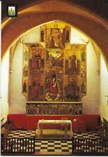 """Postal (Ibiza, Isla Blanca """"Retablo de la Iglesia de Nuestra Señora de Jesús"""")"""