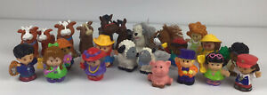 Little People Fisher Price Animals and People Figures Bulk Lot of 23 Farmyard