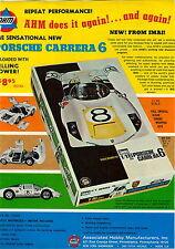 1969 ADVERT AHM Porsche Carrera 6 IMAI Motor Lotus 49 Ford f-1 1906 Mercedes Ben