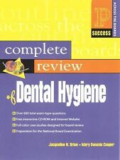 Prentice Hall SUCCESS! Ser.: Prentice Hall Health's Complete Review of Dental...