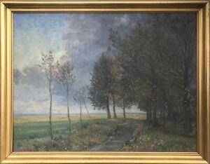 Gerda Strøm (1886-1959): ON THE EDGE OF FOREST