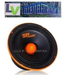 SP8MM SP AUDIO Midrange SPL 500 Watt 250 Watt RMS 20 Cm 200 Mm Alta Efficienza